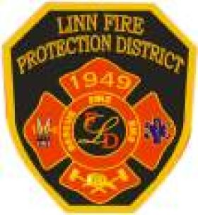 LInn Fire Protection District Patch