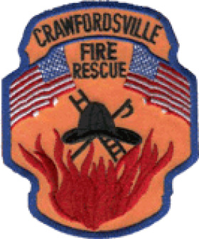 Crawfordsville Fire Department Patch