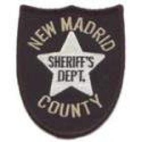 New Madrid County Sheriff's Department Patch