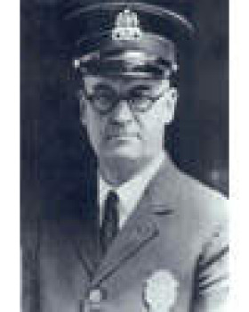 Photo of Police Officer Matron George Moran