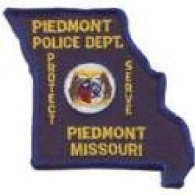 Piedmont Police Department Patch