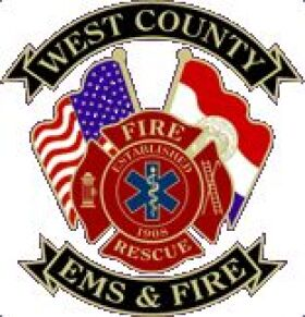 West County E.M.S. & Fire Protection District Patch