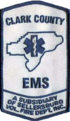 Clark County E.M.S. Patch