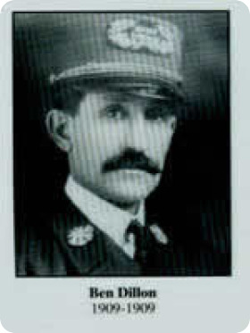 Photo of Chief Ben Dillon