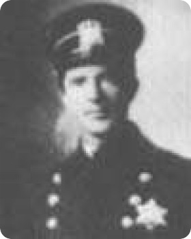 Photo of Patrolman Willard C. Bayne