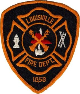 Louisville Fire Department Patch