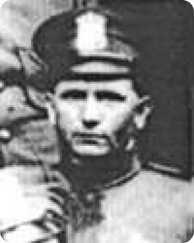 Photo of Patrolman Homer Riggle