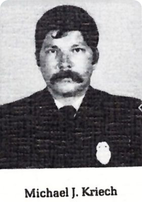 Photo of Lieutenant Michael James Kriech