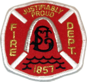 Saint Louis Fire Department Patch
