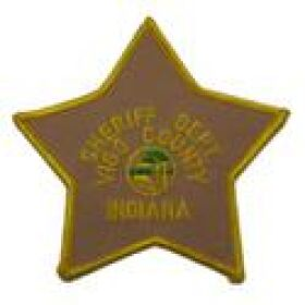 Vigo County Sheriff's Department Patch