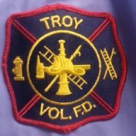 Troy Volunteer Fire Department Patch