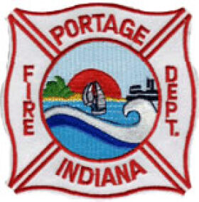Portage Fire Department Patch