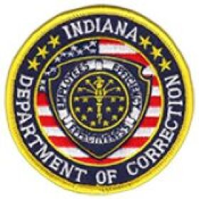 Indiana Department of Correction Patch