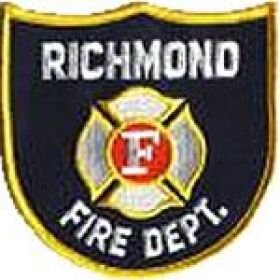 Richmond Fire Department Patch