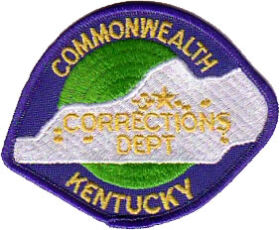 Kentucky Department of Corrections Patch