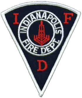 Indianapolis Fire Department Patch